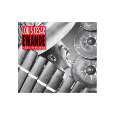 CESAR EWANDE percussion ensemble CD + DVD