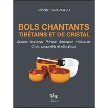 bol chantant tibétains et de cristal