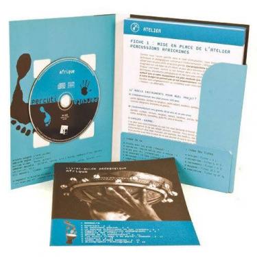 Méthode Percuti-Percuta Afrique - 1 Livret + 24 Fiches + 1 CD