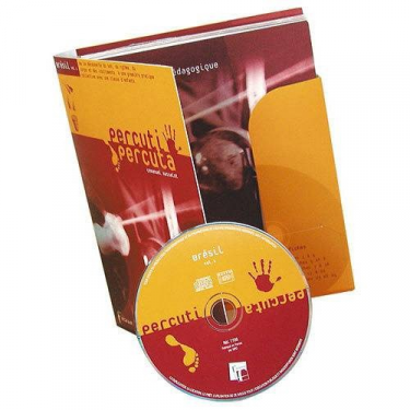 Méthode Percuti-Percuta Brésil - 1 Livret + 24 Fiches + 1 CD