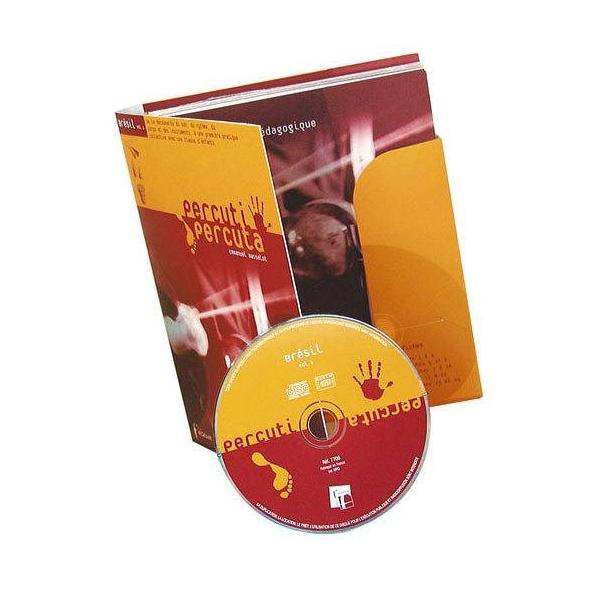 Méthode Percu-Percuta - Brésil - Livre + CD