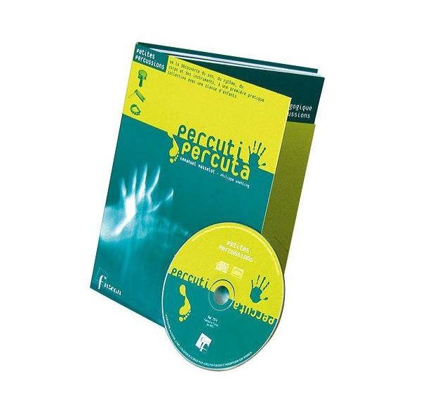 Méthode Percu-Percuta - Petites percussions - Livre + CD