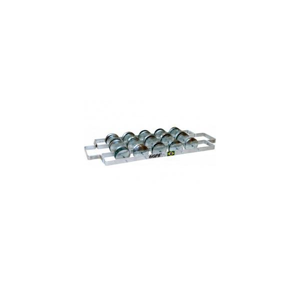 Rocar (chocalho) aluminium large - Gope