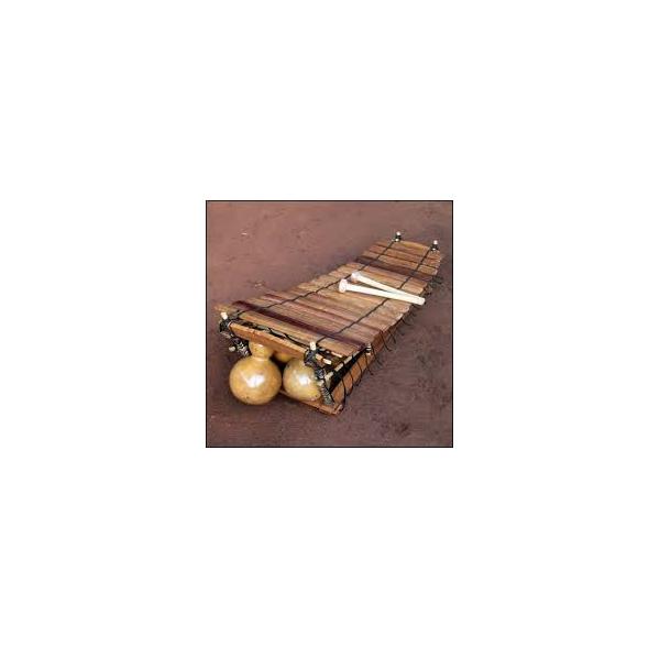 Balafon pro-luxe 16 lames Pentatonique + baguettes