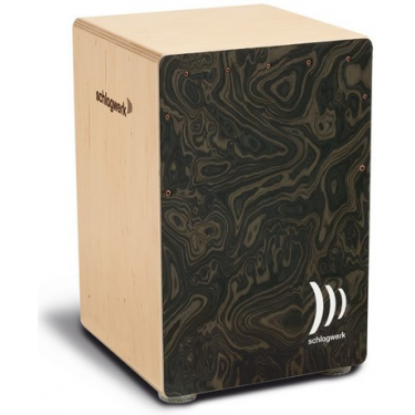 Cajon La Perù Night Burl Medium - Schlagwerk