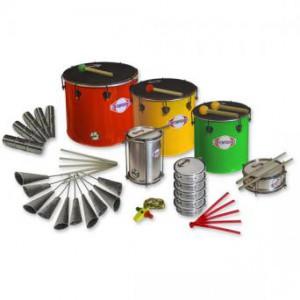 Pack samba - NESTING 21 instruments