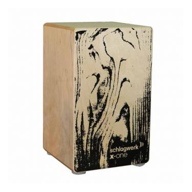 Cajon X-One black veinure- Schlagwerk
