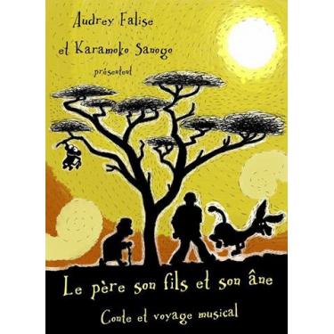 """conte """"Le père, le fils et l'âne livre + cd"""
