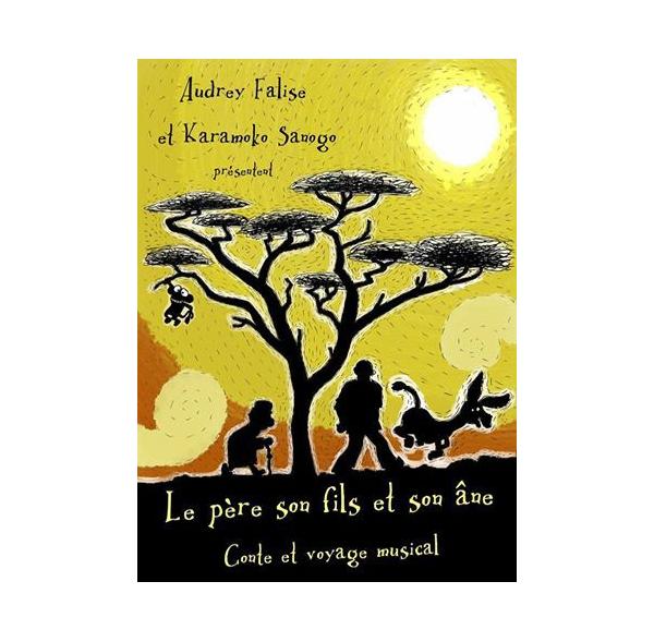 """conte """"Le père, le fils et l'âne"""