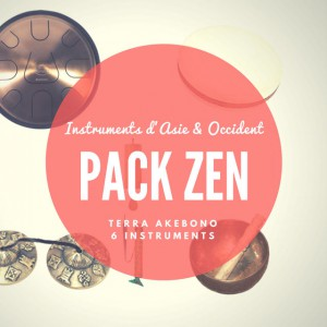 Pack Zen Terra Akebono - 6 instruments - Relaxation