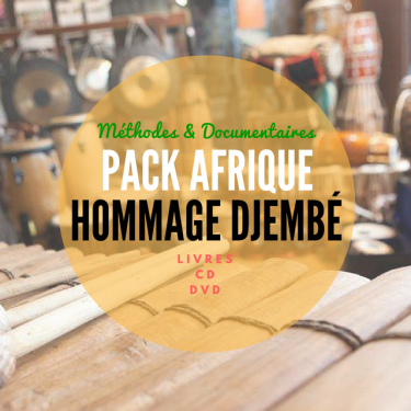 Pack Afrique Immersion Djembé - Méthode & Documentaire