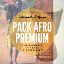 Pack 4 méthodes DVD + 1 djembé enfant