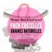 Pack 5 Crécelles de graines naturelles