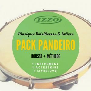 Pack Pandeiro Izzo + Méthode DVD + Housse