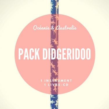 "Pack Didgeridoo PVC ""Sarong"" + Méthode Livre-CD"