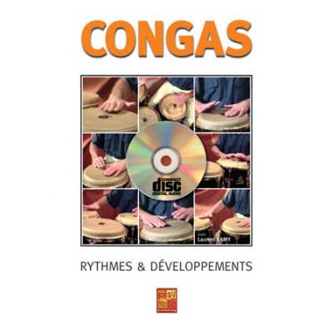 Méthode de conga -rythmes & développement Laurent Lamy - livre + cd