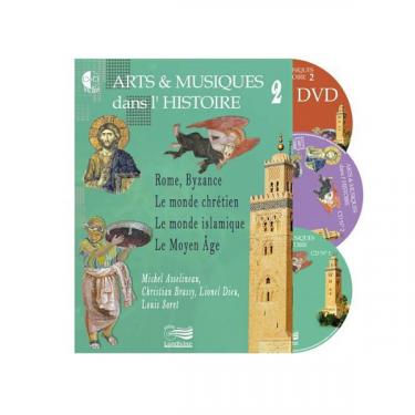 Arts et Musiques dans l'Histoire - Vol 2 - Livre + CD + DVD