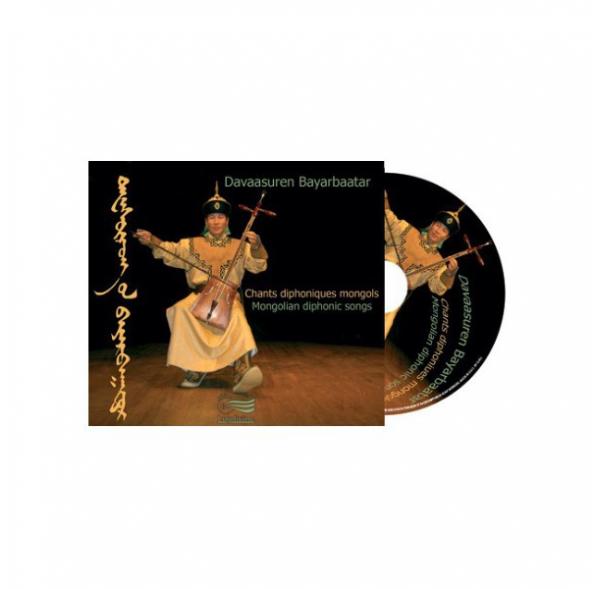 Chants diphoniques mongols - CD