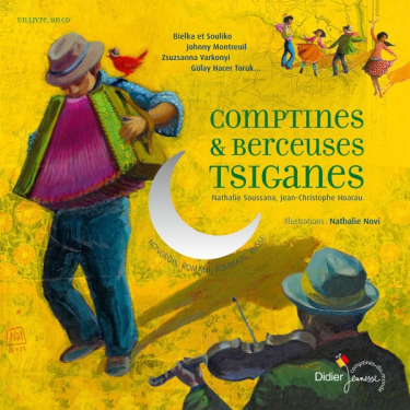 Comptines et berceuses tsiganes - Livre + CD