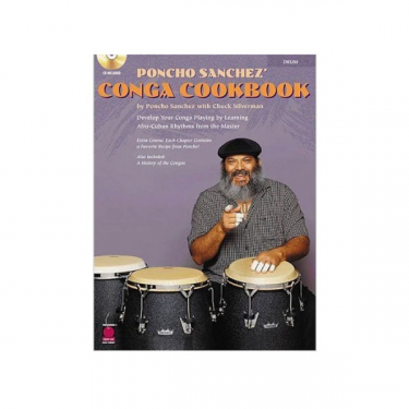 Conga Cookbook, by Poncho Sanchez