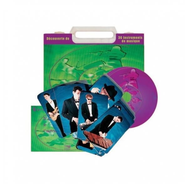 D'un instrument à l'autre - Livret + CD + 36 cartes