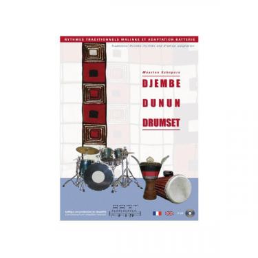 Djembé Dunun Drumset - Maarten Schepers - Livre