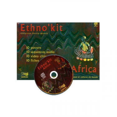 Ethno'Kit Africa - 10 Posters + 1 DVD + 1 fichier PDF