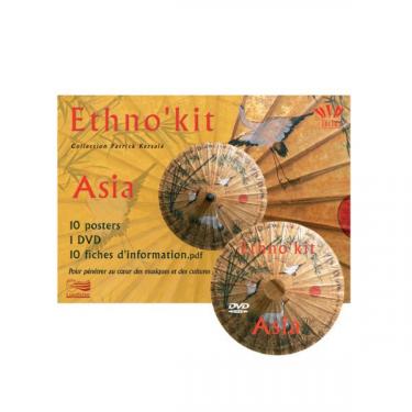 Ethno'Kit Asia - 10 Posters + 1 DVD + 1 fichier PDF