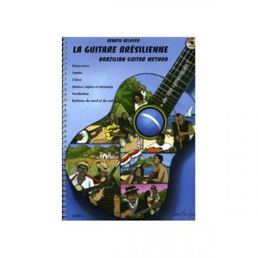 La guitare brésilienne - Renato Velasco - Livre