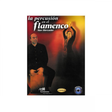 La percusion en el flamenco - Nan Mercader - CD