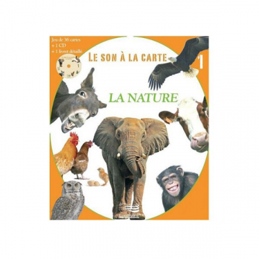 Le son à la carte - Vol 1 - La nature - CD