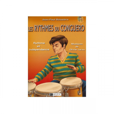 The Conguero's rhythms, by Jean Paul Boissière - Book + cd