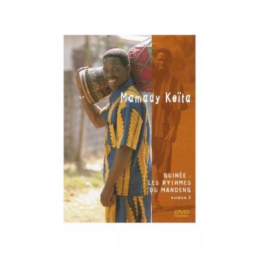 """Les rythmes du Mandeng (""""Mandinka rhythms"""") -vol 2- Mamady Keita"""