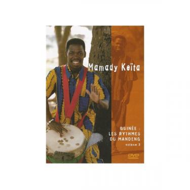 "Les rythmes du Mandeng (""Mandinka Rhythms"") -vol 3- Mamady Keïta"
