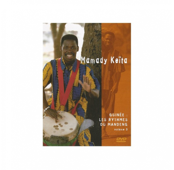Les rythmes du Mandeng ('Mandinka Rhythms') -vol 3- Mamady Keïta