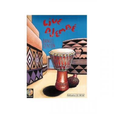 Live djembé - Daniel Genton - Livre + CD