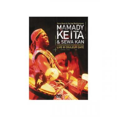 Mamady Keita & Sewa Kan - Live @ couleur café - DVD
