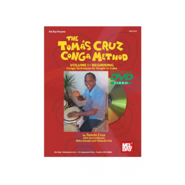 Congas method Vol. I - Tomas Cruz - Book/DVD set