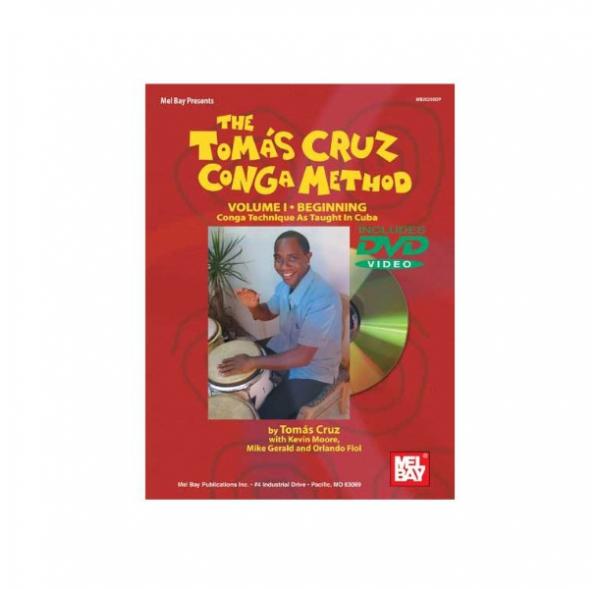 Méthode de congas Vol I - Tomas Cruz - Livre + DVD