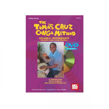 Congas method Vol. II - Tomas Cruz - Book/DVD set