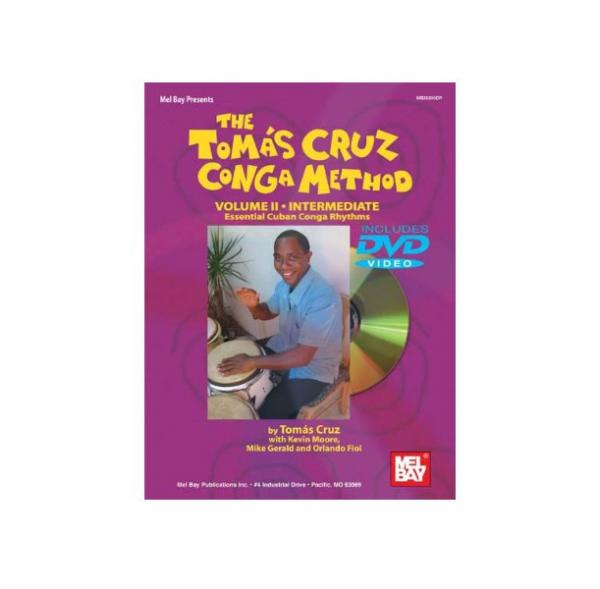 Méthode de congas Vol II - Tomas Cruz - Livre + DVD