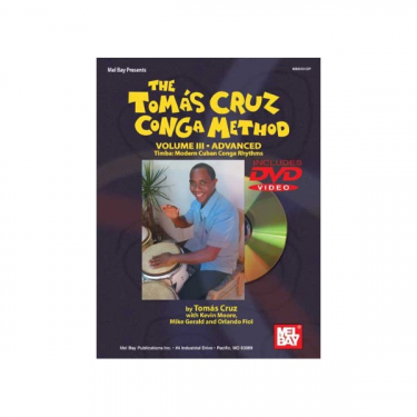 Congas method Vol. III - Tomas Cruz - Book/DVD set