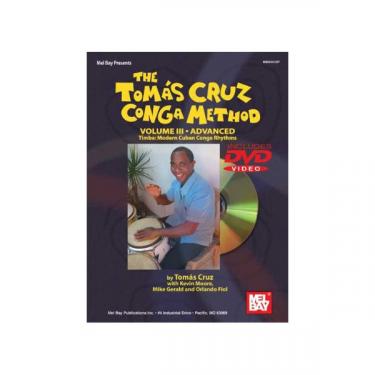 Méthode de congas Vol III - Tomas Cruz - Livre + DVD