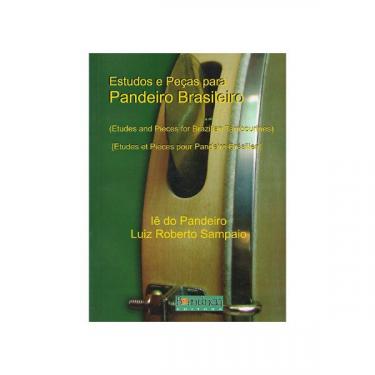 Méthode Pandeiro Brasileiro Vol. 3 - Livre