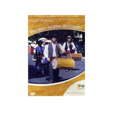 Musiques au pays des cigales - DVD