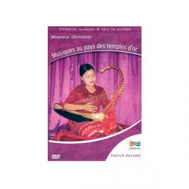 Musiques aux pays des temples d'or - DVD