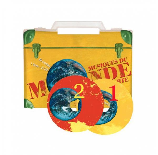 Musiques du monde à la carte - Livret + CD + Cartes