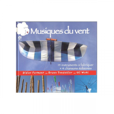 "Musiques du vent (""wind music"") - Book + CD"