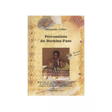Percussions du Burkina-Faso - Livre + CD
