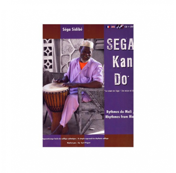 Sega Kan Do - Rhythms of Mali - Book + CD + DVD